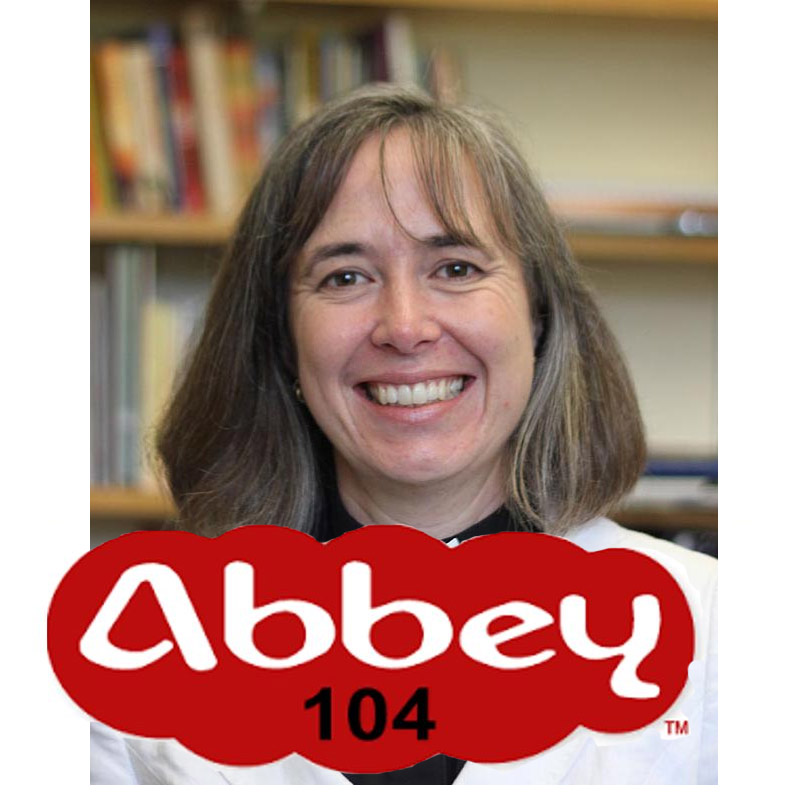 Reverend Helen Dawes is interviewed by Abbey 104 Community Radio