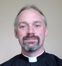 The Vicar Revd Dr. Simon Chambers