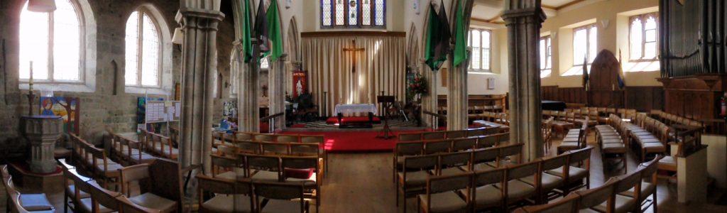 St Peter's inside