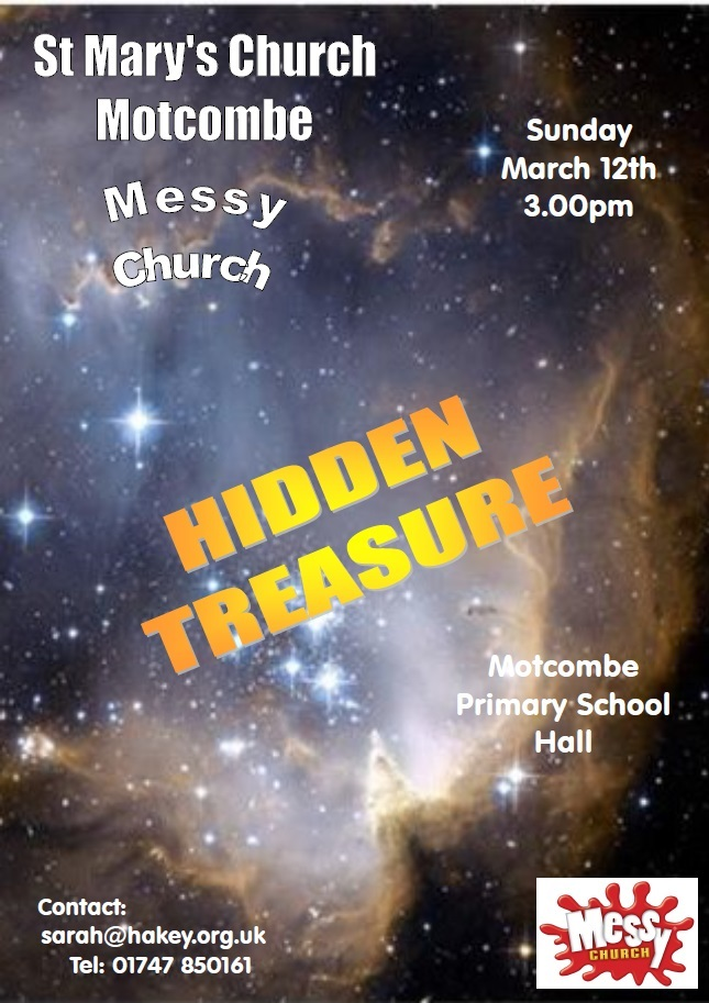 Messy Church: Hidden Treasure