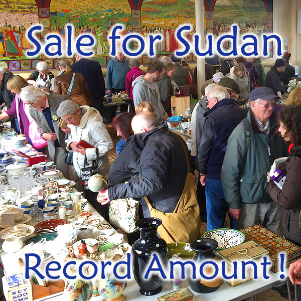Recycle Sale Raises £3,100 for Sudan