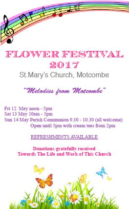 Flower Festival at Motcombe
