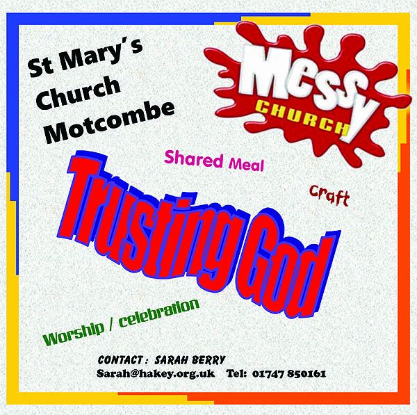 Messy Church – Trusting God