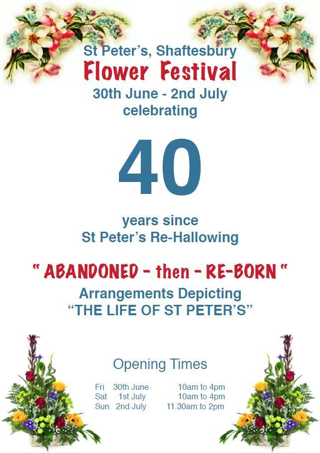 St Peter's Flower Festival