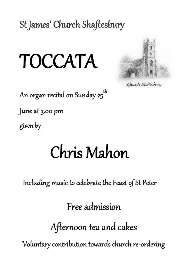 Toccata – Music for the feast of St Peter