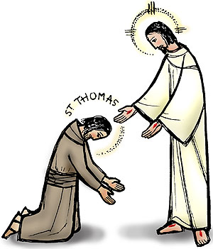 Sunday 2nd July: Feast of St Thomas