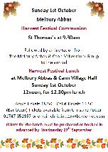 Melbury Abbas Harvest Festival