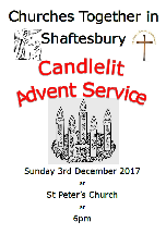 Churches Together Advent Service at St Peter's