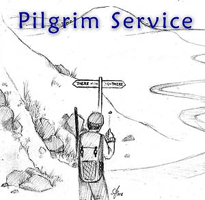 "Pilgrim Service: ""make up your mind"""