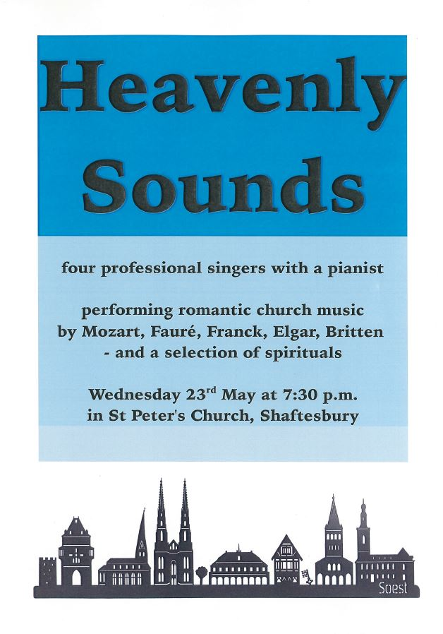 'Heavenly Sounds' Concert at St Peter's