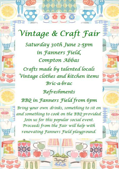Vintage & Craft Fair at Fanners Field, Compton Abbas