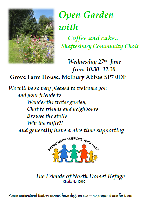 Open Garden on Wednesday 27th of June