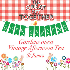 The Great Get Together: Open Gardens, Vintage Tea