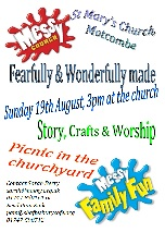 Messy Church – Sunday 19th August 3pm