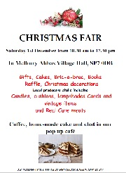 Melbury Abbas Christmas Fair