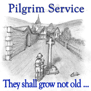 Pilgrim Service: They shall grow not old…
