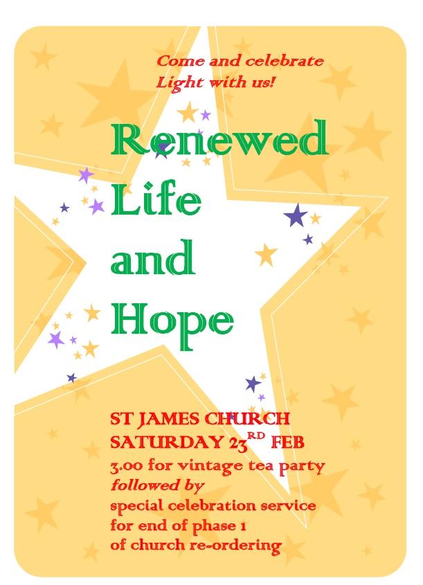 Renewed Life & Hope