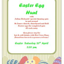 St James' Easter Egg Hunt