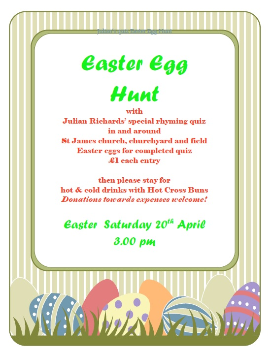 St James' Easter Egg Hunt