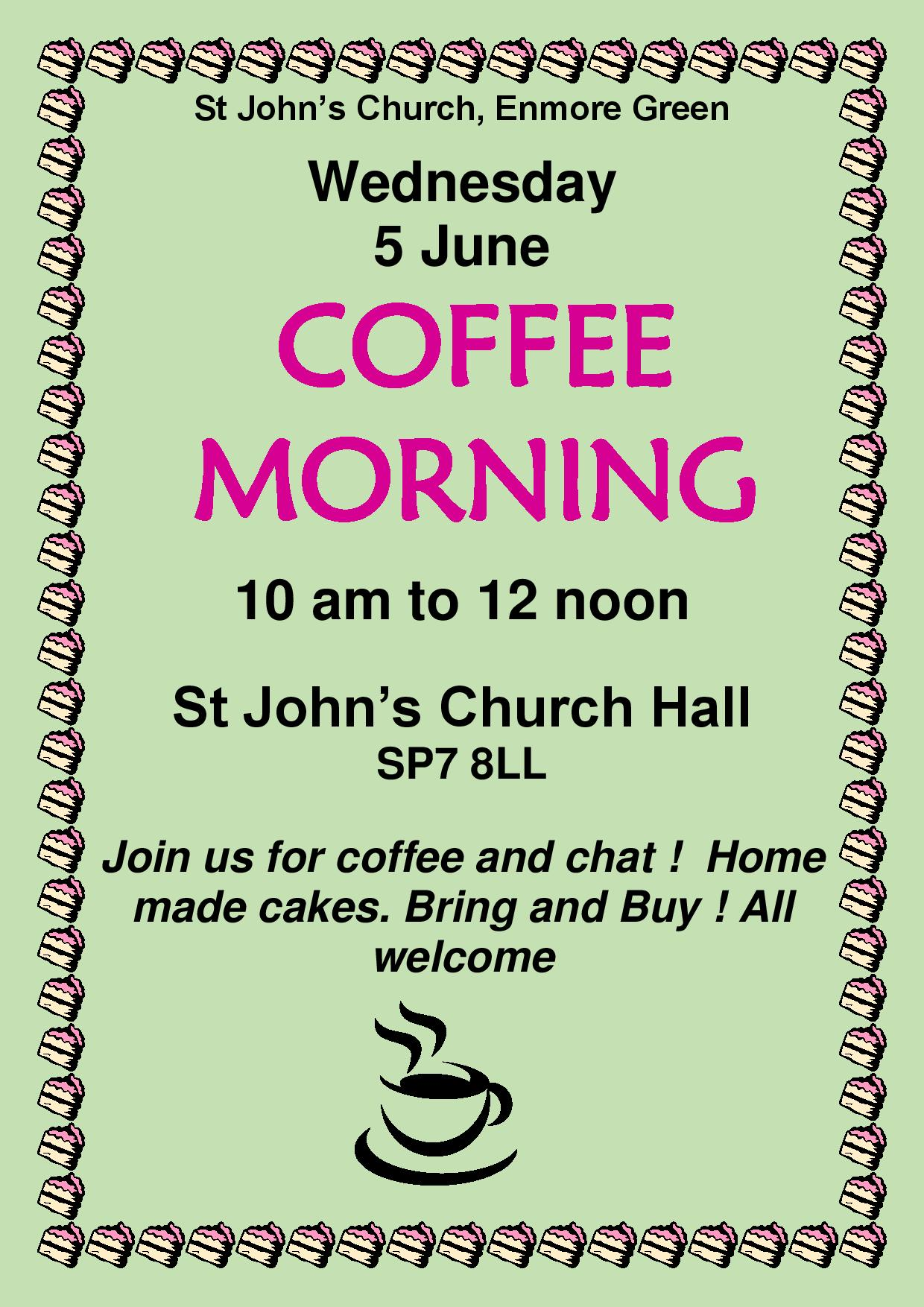 June Coffee Morning