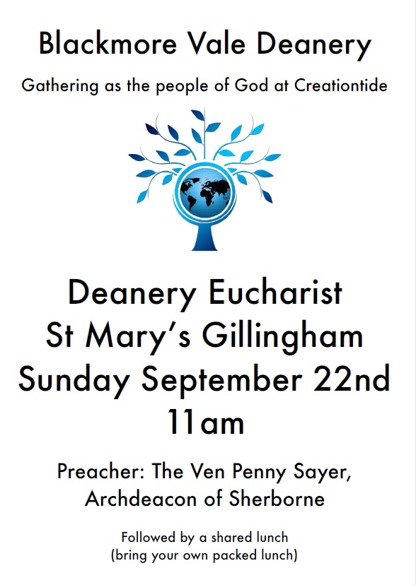 Blackmore Vale Deanery Service – 22nd September