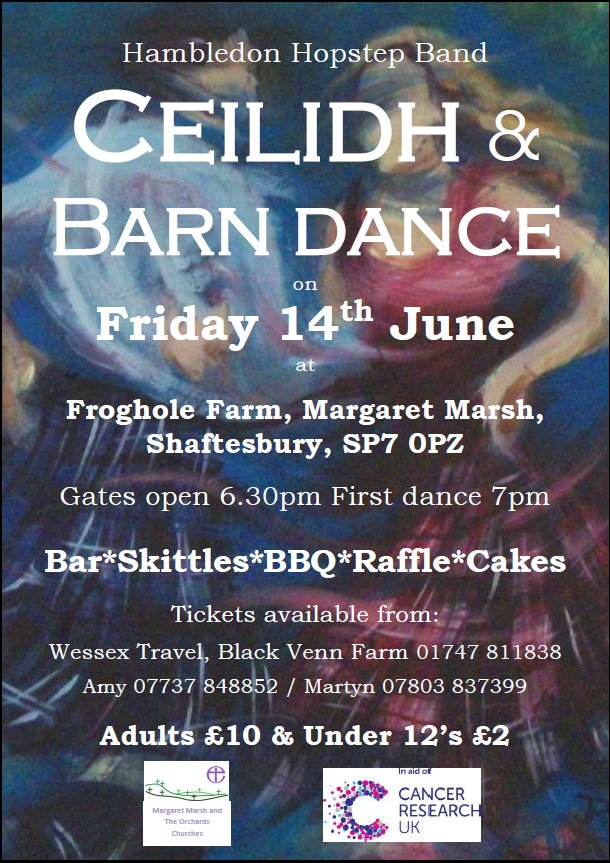 Ceilidh & Barn Dance – Friday 14th June