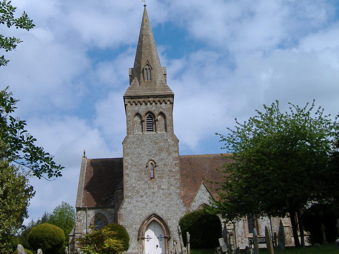 Broken Gravestones in Compton Abbas churchyard