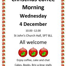 Christmas Coffee Morning - 4th December