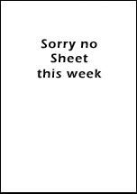 Pew Sheet 2nd Aug 2015