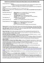 Pew Sheet 22nd Sep 2013