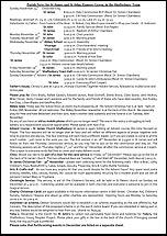 Pew Sheet 24th Nov 2013
