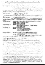 Pew Sheet 15th Dec 2013
