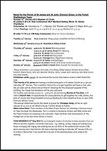 Pew Sheet 12th Jan 2014