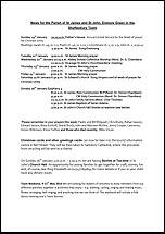 Pew Sheet 19th Jan 2014