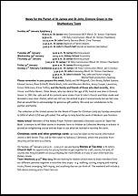 Pew Sheet 26th Jan 2014