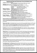 Pew Sheet 2nd Feb 2014
