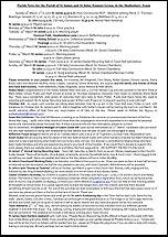 Pew Sheet 9th Mar 2014