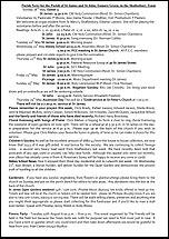 Pew Sheet 18th May 2014