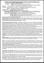 Pew Sheet 25th May 2014