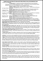 Pew Sheet 8th Jun 2014