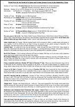 Pew Sheet 22nd Jun 2014
