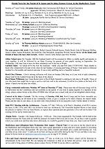 Pew Sheet 22nd Jun 2014