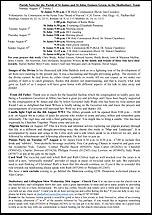 Pew Sheet 3rd Aug 2014
