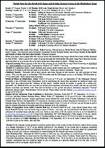 Pew Sheet 31st Aug 2014