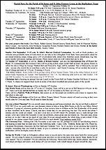 Pew Sheet 21st Sep 2014