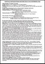 Pew Sheet 7th Dec 2014