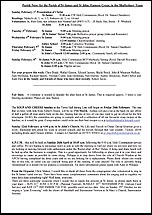 Pew Sheet 1st Feb 2015