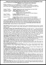 Pew Sheet 22nd Mar 2015