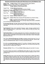 Pew Sheet 3rd May 2015