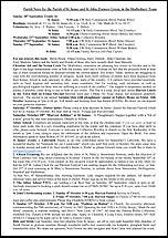 Pew Sheet 20th Sep 2015
